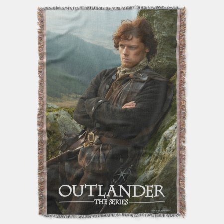 Outlander | Reclining Jamie Fraser Photograph Throw