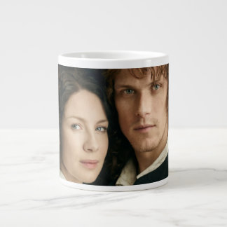Outlander Season 3 | Jamie and Claire Photograph Large Coffee Mug
