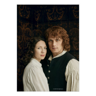 Outlander Season 3 | Jamie and Claire Photograph Poster