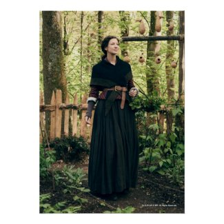 Outlander Season 4 | Claire in the Garden Poster