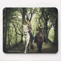 Outlander Season 4 | Jamie & Claire Ride In Woods Mouse Pad