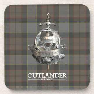 Outlander | The Fraser Brooch Beverage Coaster