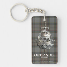 Outlander | The Fraser Brooch Keychain at Zazzle