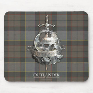 Outlander | The Fraser Brooch Mouse Pad