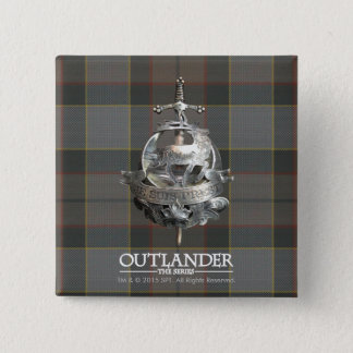 Outlander | The Fraser Brooch Pinback Button