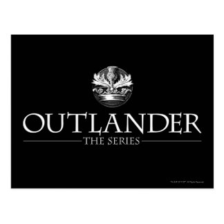Outlander | The Series Logo White V1 Postcard