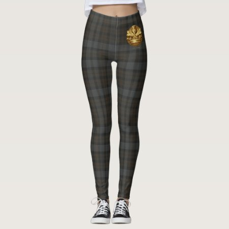 Outlander | The Thistle Of Scotland Emblem Leggings