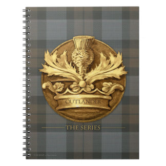 Outlander | The Thistle Of Scotland Emblem Notebook