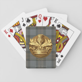Outlander | The Thistle Of Scotland Emblem Playing Cards
