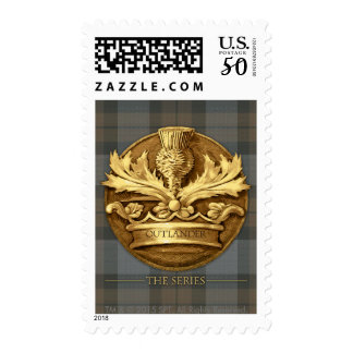 Outlander | The Thistle Of Scotland Emblem Postage
