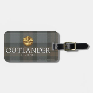 Outlander Title and Crest Luggage Tag