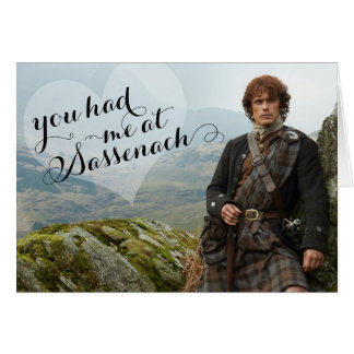 Outlander | Valentine's Day - Sassenach Card