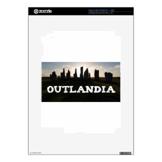 Outlandia Standing Stones Decals For iPad 2