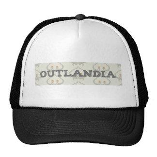 Outlandia Thistle Background Trucker Hat