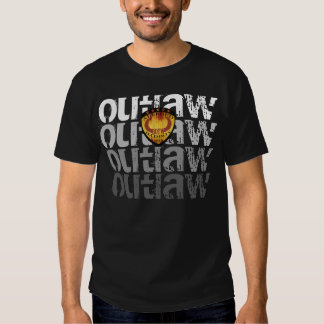 OUTLAW ALLEGED BADBOY by BULL OF THE WOODS T Shirt