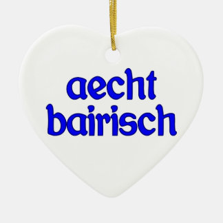 outlaw bairisch genuinly Bavarian Christmas Tree Ornament