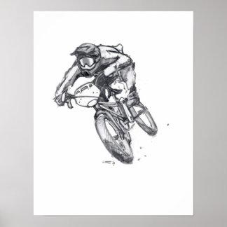 Outlaw BMX art poster #2