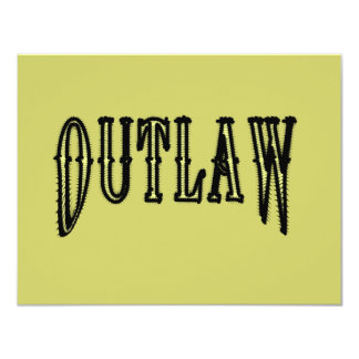 Outlaw Card