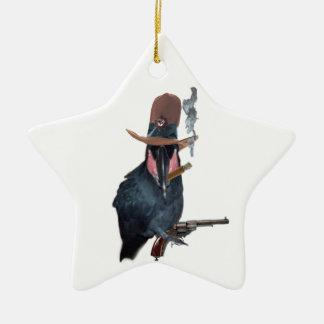 Outlaw Cez Ceramic Ornament