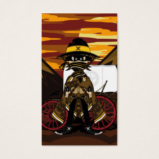 Outlaw Cowboy Bookmark Business Card
