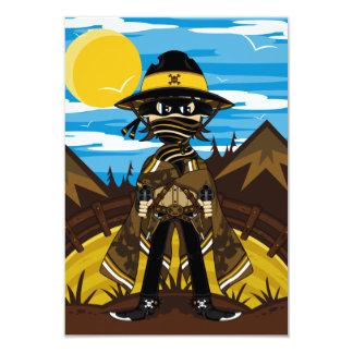 Outlaw Cowboy RSVP Card