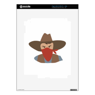 Outlaw Decal For The iPad 2