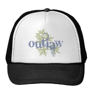 Outlaw & Green Leaf Hat