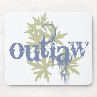 Outlaw & Green Leaf Mousepads