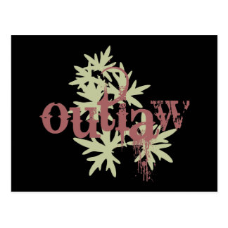 Outlaw & Green Leaf Post Card