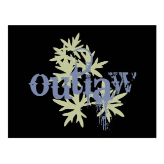 Outlaw & Green Leaf Postcards