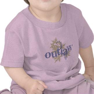 Outlaw & Green Leaf Tee Shirt