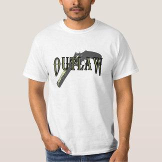 Outlaw Gun T Shirts