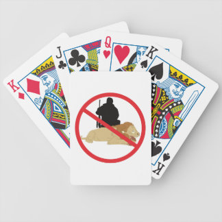 Outlaw Hunting Bicycle Playing Cards