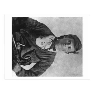 Outlaw Jesse James Portrait Photograph Postcard
