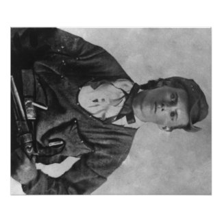 Outlaw Jesse James Portrait Photograph Poster