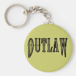 Outlaw Keychain