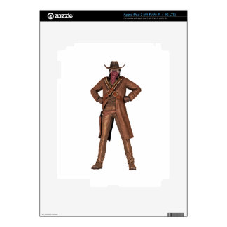 Outlaw of the West Decals For iPad 3