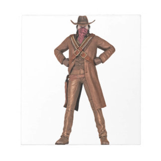 Outlaw of the West Notepad