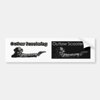 Outlaw scootering Dual Sticker Sheet