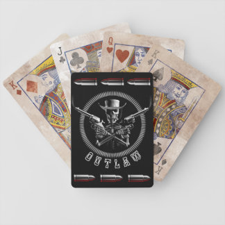 Outlaw Skeleton Playing Cards