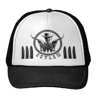 Outlaw Skeleton Truckers Trucker Hat