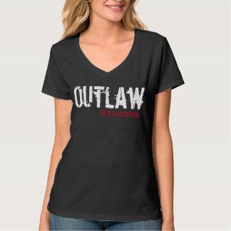 """Outlaw Studios Ladies """"CREW"""" Tee"""