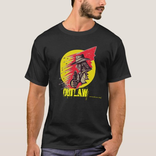 Outlaw t-shirt design