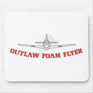 outlawfoam mouse pad