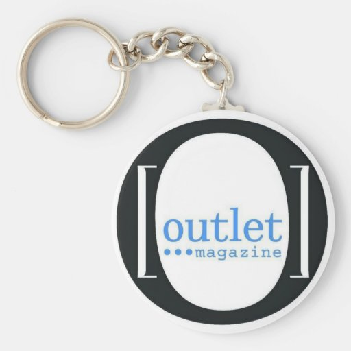Outlet Magazine keychain