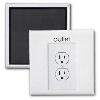 Outlet Refrigerator Magnet