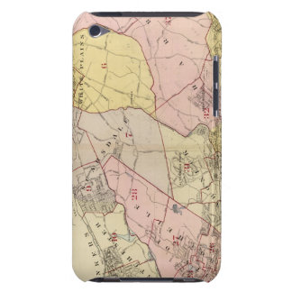 Outline, index map Westchester County iPod Touch Case