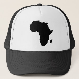 Outline of Africa Trucker Hat
