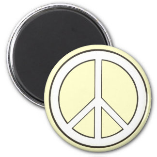 Outline Peace Sign magnets