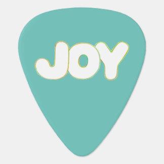 Outline word Joy Guitar Picks
